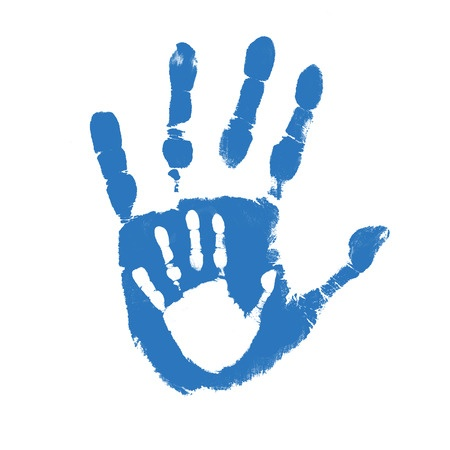 handprint within a handprint