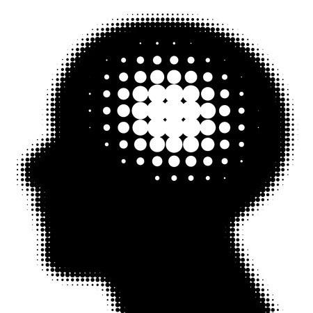 shadow of a head